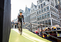 Michael Goolaerts (BEL/Willems Veranda's-Crelan) at team presentation Willems Veranda's-Crelan<br /> <br /> 101st Ronde van Vlaanderen  2017 (1.UWT)<br /> 1day race: Antwerp-Oudenaarde (260km)