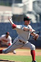 Bryan Augenstein - Scottsdale Scorpions, 2009 Arizona Fall League.Photo by:  Bill Mitchell/Four Seam Images..