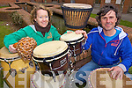 RHYTHM: Dancer Catherine Young and percussionist Urs Wenk who have come together to introduce African Dance classes to Kerry.