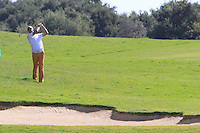 Fredrik Anderson Hed (SWE) during the final day of the  Andalucía Masters at Club de Golf Valderrama, Sotogrande, Spain. .Picture Denise Cleary www.golffile.ie