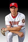 25 February 2007: Washington Nationals Canadian pitcher Shawn Hill poses for his Photo Day portrait at Space Coast Stadium in Viera, Florida.<br /> <br /> Mandatory Photo Credit: Ed Wolfstein Photo<br /> <br /> Note: This image is available in a RAW (NEF) File Format - contact Photographer.