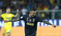 Calcio, Serie A: Frosinone-Juventus, Benito Stirpe stadium, Frosinone, September 23, 2018. <br /> Juventus' Federico Bernardeschi celebrates after scoring  during the Italian Serie A football match between Frosinone and Juventus at Frosinone stadium on September 23, 2018.<br /> UPDATE IMAGES PRESS/Isabella Bonotto