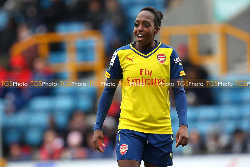 Danielle Carter of Arsenal Ladies - Millwall Lionesses vs Arsenal Ladies - FA Womens Challenge Cup 5th Round Football at the New Den, Bermondsey, London - 22/03/15 - MANDATORY CREDIT: TGSPHOTO - Self billing applies where appropriate - contact@tgsphoto.co.uk - NO UNPAID USE