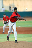 July 10th 2008:  Dexter Carter of the Great Falls Voyagers, Rookie Class-A affiliate of the Chicago White Sox, during a game at the Home of the Owlz Stadium in Orem, UT.  Photo by:  Matthew Sauk/Four Seam Images