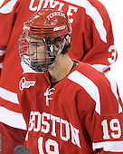 Justin Courtnall (BU - 19) - The Boston College Eagles defeated the visiting Boston University Terriers 5-2 on Saturday, December 4, 2010, at Conte Forum in Chestnut Hill, Massachusetts.