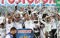 Atlético Nacional vs. Atlético Junior, Final Liga Postobon I 2014. 21-05-2014