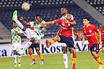 En el estadio Metropolitano de Barranquilla, Boyacá Chicó venció 0-1 al equipo de la Universidad Autónoma del Caribe, en juego programado en la cuarta fecha del todos contra todos del Torneo Finalización de la Liga Águila 2015.