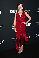 HOLLYWOOD, CA - AUGUST 10: Carrie Preston, at OUT Magazine's Inaugural POWER 50 Gala & Awards Presentation at the Goya Studios in Los Angeles, California on August 10, 2017. Credit: Faye Sadou/MediaPunch