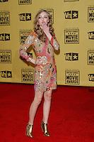January 15, 2010:  Saoirse Ronan arrives at the 15th Annual Critics' Choice Movie Awards held at the Palladium in Los Angeles, California. .Photo by Nina Prommer/Milestone Photo