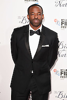 """Chike Okonkwo<br /> at the London Film Festival 2016 premiere of """"The Birth of a Nation"""" at the Odeon Leicester Square, London.<br /> <br /> <br /> ©Ash Knotek  D3173  11/10/2016"""
