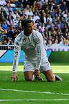 Real Madrid´s Cristiano Ronaldo during 2014-15 La Liga match between Real Madrid and Eibar at Santiago Bernabeu stadium in Madrid, Spain. April 11, 2015. (ALTERPHOTOS/Luis Fernandez)
