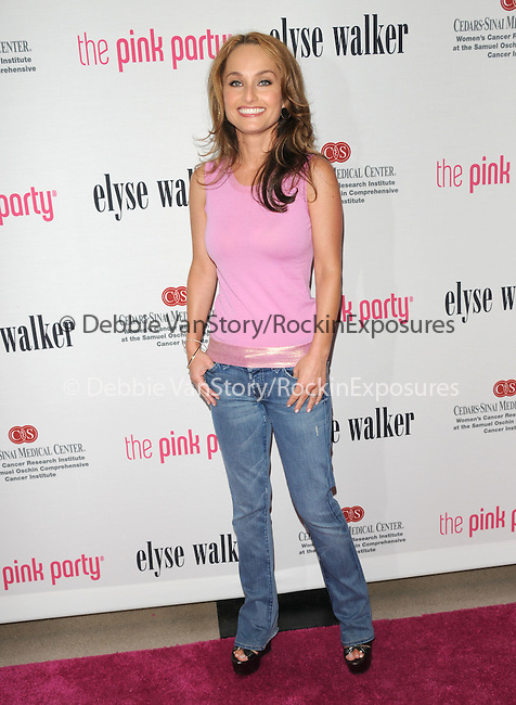 Giada De Laurentiis at The 5th annual Pink Party celebration to Benefit Cedars-Sinai Women's Cancer Research Institute at the Samuel Oschin Comprehensive Cancer Institute, event held at La Cachette Bistro in Santa Monica, California on September 12,2009                                                                   Copyright 2009 DVS / RockinExposures