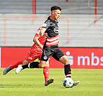 27.06.2020, Stadion an der Wuhlheide, Berlin, GER, DFL, 1.FBL, 1.FC UNION BERLIN  VS. Fortuna Duesseldorf , <br /> DFL  regulations prohibit any use of photographs as image sequences and/or quasi-video<br /> im Bild Alfredo Morales (Fortuna Duesseldorf #6)<br /> <br /> <br />      <br /> Foto © nordphoto / Engler