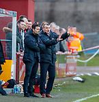 17.04.2018 Brechin City v Dundee utd:<br /> Csaba Laszlo