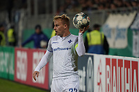 Fabian Holland (SV Darmstadt 98) - 29.10.2019: SV Darmstadt 98 vs. Karlsruher SC, Stadion am Boellenfalltor, 2. Runde DFB-Pokal<br /> DISCLAIMER: <br /> DFL regulations prohibit any use of photographs as image sequences and/or quasi-video.
