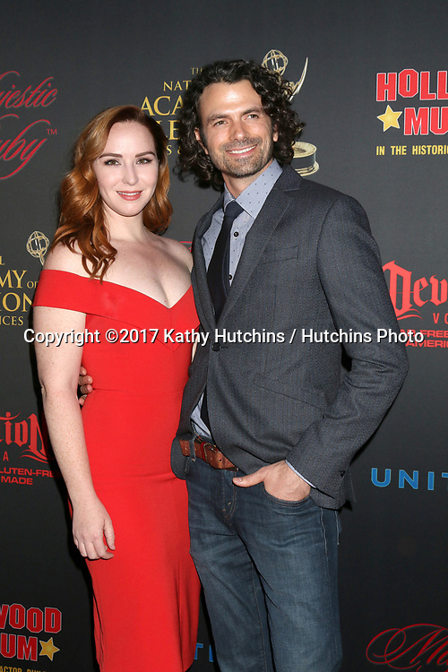 LOS ANGELES - APR 26:  Camryn Grimes, Daniel Hall at the NATAS Daytime Emmy Nominees Reception at the Hollywood Museum on April 26, 2017 in Los Angeles, CA