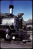 Pilot end of D&amp;RGW #473 K-28<br /> D&amp;RGW  Durango, CO