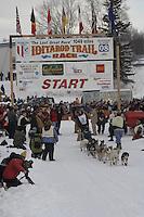 Jeff Deeter Willow restart Iditarod 2008.