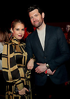 """LOS ANGELES - OCTOBER 26: (L-R) Leslie Grossman and Billy Eichner attend the red carpet event to celebrate 100 episodes of FX's """"American Horror Story"""" at Hollywood Forever Cemetery on October 26, 2019 in Los Angeles, California. (Photo by John Salangsang/FX/PictureGroup)"""