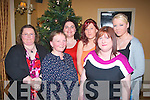 Enjoying Women's Christmas at Ballygarry House Hotel last Friday night were l-r: Trisha Lenihan, Mary Buckley, Rosa Shanahan, Katie Quinn, Bridget Long and Tina Quinn all from Lyrecrompane.