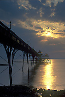 Sunset over Clevedon Pier