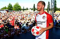 EMMEN - Opendag FC Emmen , Oude Meerdijk, seizoen 2018-2019, 15-07-2018,  FC Emmen speler Jason Bourdouxhe