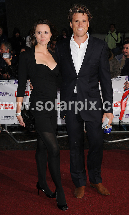 **ALL ROUND PICTURES FROM SOLARPIX.COM**.**WORLDWIDE SYNDICATION RIGHTS**.Arrivals for the Pride Of Britain Awards, held at Southbank Studios, London, UK. 30th September 2008..This pic: James Cracknell and Beverly Turner..JOB REF: 7500 SSD     DATE: 30_09_2008.**MUST CREDIT SOLARPIX.COM OR DOUBLE FEE WILL BE CHARGED* *UNDER NO CIRCUMSTANCES IS THIS IMAGE TO BE REPRODUCED FOR ANY ONLINE EDITION WITHOUT PRIOR PERMISSION*