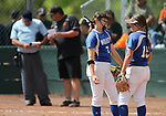 Images from the semifinal game between the Basic Wolves and the Douglas Tigers in the NIAA 4A softball tournament, in Reno, Nev., on Thursday, May 17, 2018. Douglas won 8-5. Cathleen Allison/Las Vegas Review-Journal