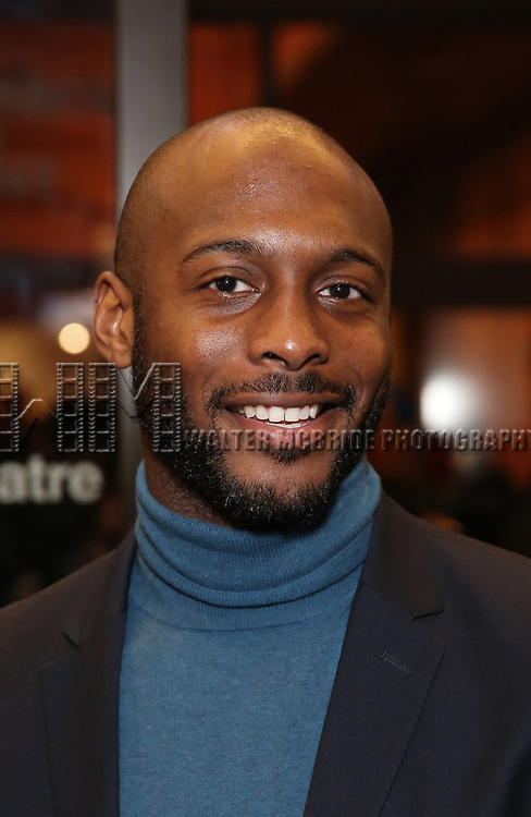 """Jireh Breon Holder attends the Broadway Opening Night Performance of """"John Lithgow: Stories by Heart"""" at the American Airlines Theatre on January 11, 2018 in New York City."""
