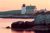 Hendricks Head Light<br /> Southport Island<br /> Lincoln County<br /> Maine