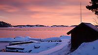 Winter in the Stockholm archipelago. Vinter i Stockholm skärgård.