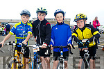 Enjoying the ARDFERT Harvest  Kids Fun Cycle on Sunday were Ethan Fitzgerald, Alex McGarth, Jimmy Faye and Keelan Best
