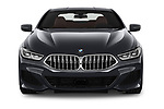 Car photography straight front view of a 2019 BMW 8 Series M Sport 2 Door Coupe