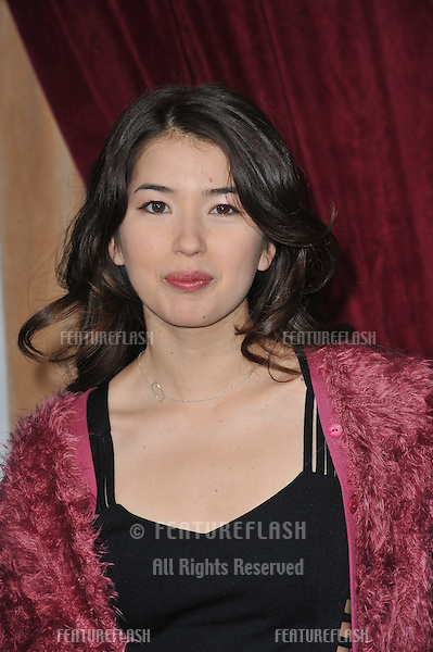 "Nichole Bloom at the Los Angeles premiere of ""Sherlock Holmes: A Game of Shadows"" at the Village Theatre, Westwood..December 6, 2011  Los Angeles, CA.Picture: Paul Smith / Featureflash"