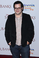 "BURBANK, CA - DECEMBER 09: Josh Gad arriving at the U.S. Premiere Of Disney's ""Saving Mr. Banks"" held at Walt Disney Studios on December 9, 2013 in Burbank, California. (Photo by Xavier Collin/Celebrity Monitor)"