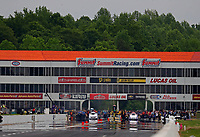 May 5, 2018; Commerce, GA, USA;Overall view of Atlanta Dragway during NHRA qualifying for the Southern Nationals. Mandatory Credit: Mark J. Rebilas-USA TODAY Sports