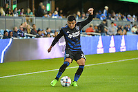 San Jose, CA - Saturday, March 04, 2017: Nick Lima prior to a Major League Soccer (MLS) match between the San Jose Earthquakes and the Montreal Impact at Avaya Stadium.