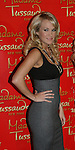 Three Time Grammy Award-winning Recording Artist Carrie Underwood unveils her wax figure at Madame Toussauds New York on October 22, 2008 in New York City. (Photo by Sue Coflin/Max Photos)