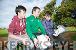 At the Kerry ETB orienteering event in Ballyseedy Wood on Tuesday were Christian Griffin, Philip Shortland, Sean Shanahan from Causeway Comprehensive School