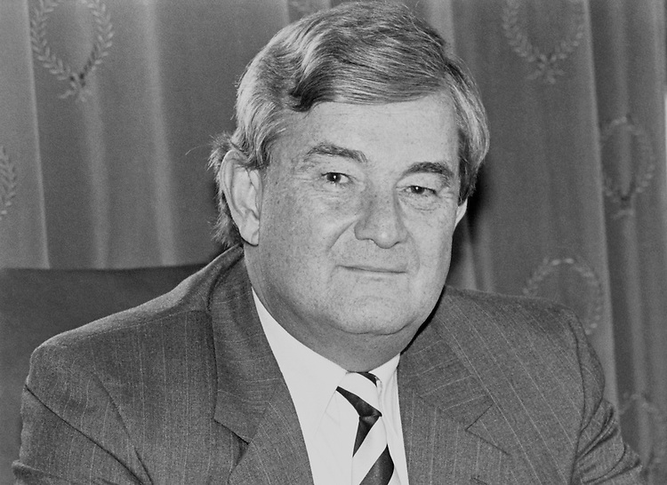 "Rep. Charles Grandison ""Charlie"" Rose III, D-N.C., House of Representatives Member. October 1991 (Photo by Laura Patterson/CQ Roll Call)"
