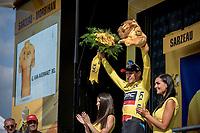 Yellow Greg Van Avermaet (BEL/BMC) <br /> <br /> Stage 4: La Baule &gt; Sarzeau (192km)<br /> <br /> 105th Tour de France 2018<br /> &copy;kramon