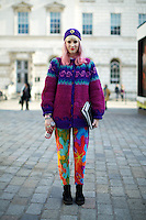 LFW February 2013 Street Style