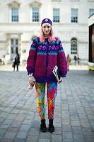 LFW February 2013 Street Style