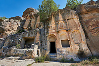 "Pictures & images of Kalburlu (St. Epthemios) church, 9th century, the Vadisi Monastery Valley, ""Manastır Vadisi"",  of the Ihlara Valley, Guzelyurt , Aksaray Province, Turkey."