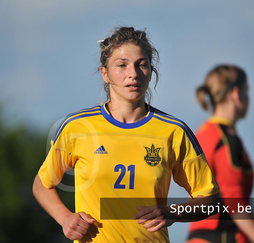 Belgium - Ukraine : Daria Vorontsova<br /> foto DAVID CATRY / Nikonpro.be