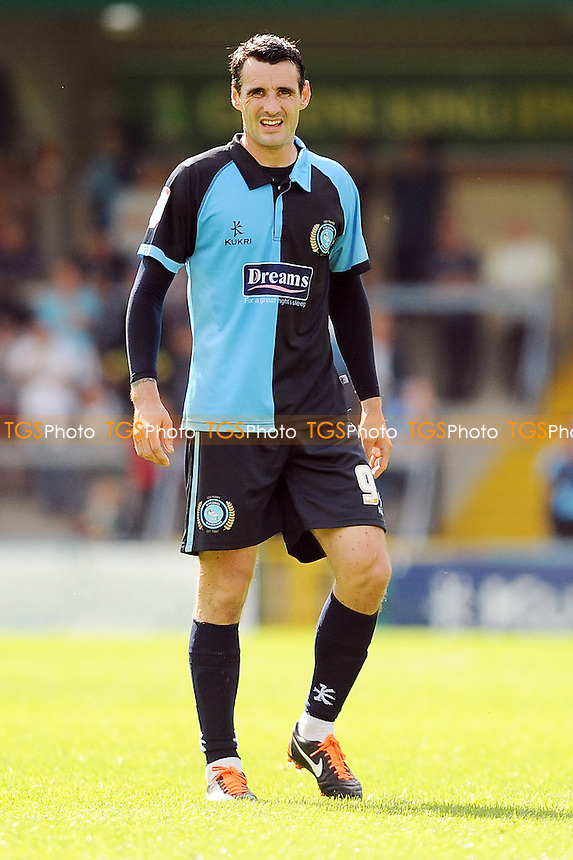 Matt Spring of Wycombe Wanderers  - Wycombe Wanderers vs Bristol Rovers - NPower League Two Football at Adams Park, High Wycombe - 03/02/07 - MANDATORY CREDIT: Anne-Marie Sanderson/TGSPHOTO - Self billing applies where appropriate - 0845 094 6026 - contact@tgsphoto.co.uk - NO UNPAID USE.