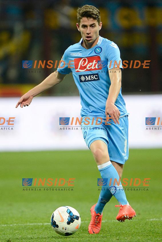 Jorginho Napoli <br /> Milano 26-04-2014 Stadio Giuseppe Meazza - Football 2013/2014 Serie A. Inter - Napoli Foto Giuseppe Celeste / Insidefoto