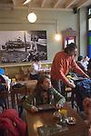 Ara Café, Galatasaray, Istanbul, Turkey, Ara Guler, Photographer represented.