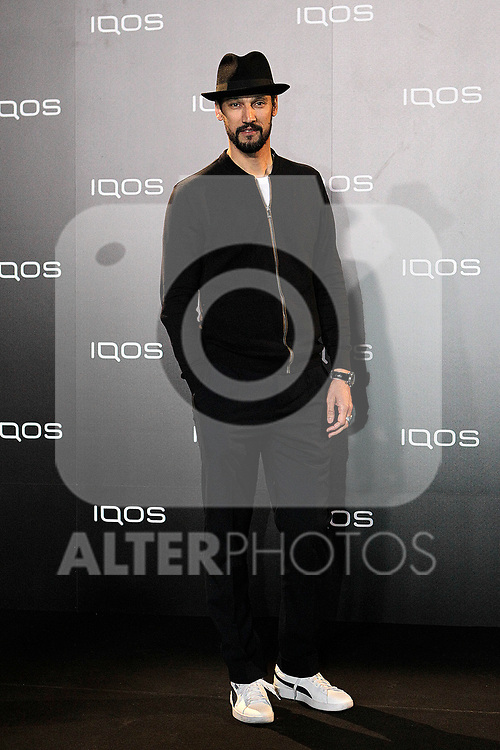 Stany Coppet attends to IQOS3 presentation at Palacio de Cibeles in Madrid. February 10,2019. (ALTERPHOTOS/Alconada)