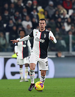 Calcio, Serie A: Juventus - Milan, Turin, Allianz Stadium, November 10, 2019.<br /> Juventus' Federico Bernardeschi in action during the Italian Serie A football match between Juventus and Milan at the Allianz stadium in Turin, November 10, 2019.<br /> UPDATE IMAGES PRESS/Isabella Bonotto